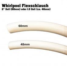 FlexRohr Whirlpool 48/60mm